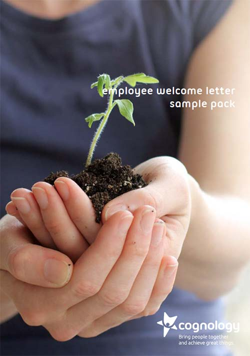 Employee Welcome Letter Sample pack cover