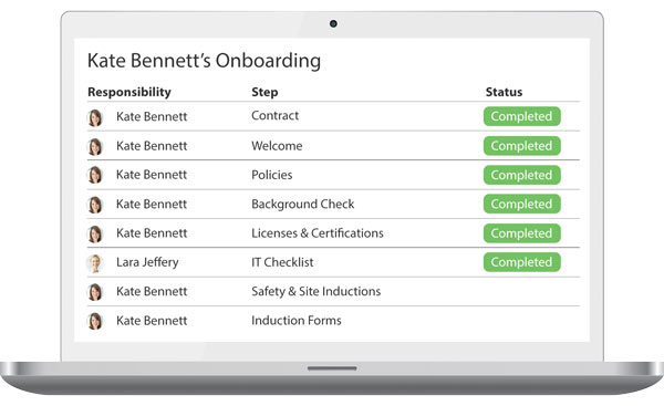 Induction and Onboarding Software
