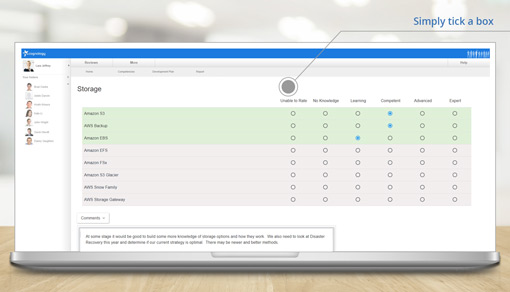 Automate Competency Assessments